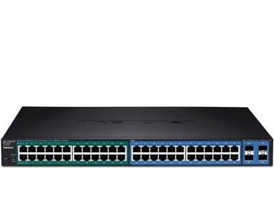 Layer 2 Switches 24-port Gigabit Managed Layer 2 Switch with 4 shared SFP slots