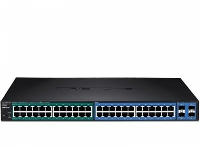 Switch 24-port GREENnet Gigabit PoE+ Switch (370W)