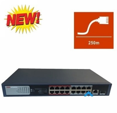 Switch POE HDPARAGON 8 port HDS-SW108POE/M