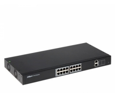 Switch PoE DAHUA 16 Port PFS4018-16P-250