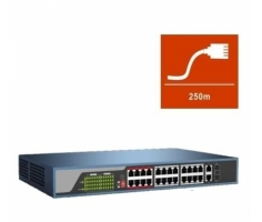 Switch POE HDPARAGON 24 port HDS-SW1024POE