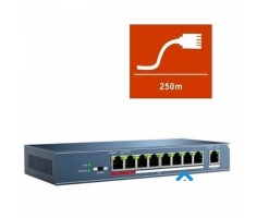 Switch POE HDPARAGON 8 port HDS-SW108POE